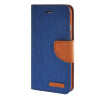 MOONCASE iPhone 6 Plus 5.5 , Leather Flip Pouch Stand Back ЧЕХОЛ ДЛЯ Apple iPhone 6 Plus ( 5.5 inch ) Dark blue htc flyer dock connector charging port flex cable green golden