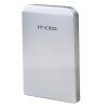 IT-директор L-600 USB3.0 мобильный картридж жесткого диска для ноутбука корпуса привода коробки 2,5 дюйма SATA HDD / SSD SSD сплава серебра оболочки hdd для ноутбука