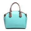 Новые женщины кожаные сумки Трапеция сумки дизайнеры Leopard плечо сумки люксовый бренд женской моды топ-ручка сумки