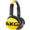 AKG стереофонические проводные наушники с оголовьем Bluetooth-наушники с микрофоном HIFI складные переносные наушники дл музыки по наушники