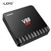 iLEPO V88 Piano Android 7.1 Smart TV Box RK3328 Quad Core Cortex A53 4GB 16GB KDPlayer 18.0 HD 2.0 Wifi 2.4GH HD Set Top Box 5pcs android tv box tvip 410 412 box amlogic quad core 4gb android linux dual os smart tv box support h 265 airplay dlna 250 254