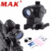 QD High Red Green Dot Holographic Sight Riflescope Quick Detach с 20-миллиметровым прицелом для стрельбы для Picatinny и Weaver Rail System mini compact tactical red dot laser bore sight scope with 20mm picatinny rail mount