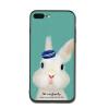 Прекрасный мультфильм животных кролика дело для Apple iPhone 8 X 7 6 6S Plus 5 5S SE телефон случаях моды мягкой силиконовой крышки TPU new in stock mbf17b1f06b