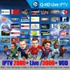 Фото Q-HD IPTV 2800+ Live 3000 + VOD Europe IPTV M3U Enigam2 Android Италия Французский Арабский Немецкий Испанский Великобритания для TV Box H96 X96