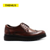 THEMUS Oxford Flats Men's Shoes Retro Series H3205A global global adv workbook