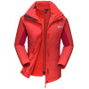 El Monte ALPINT ГОРНЫЕ Куртки Куртки тройная мужские и женские пары осень и зима теплая флис из двух частей темно-L 630-619 paul shark мужские куртки осень зима