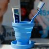 Портативный Силиконовые Телескопическая Питьевая Кубок Складные складные Путешествия Отдых
