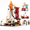 2018 New Space launch center building blocks space shuttle spacecraft launch center Gifts for children Boy toy 2018 new transformers building blocks bumblebee optimus prime puzzle assembled toys gifts for children