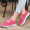 Женская повседневная мода меш Плоская обувь Спортивная обувь кроссовки Женская обувь Студенческая обувь женская обувь