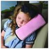 MyMei младенца автомобилей авто безопасность ремня безопасности Крышка подушки Подушка поддержки поясничной поддержки сиденья массаж автомобилей сетки вентиляция подушка талия марлевым тампоном