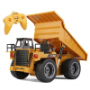 RC Truck Toys Six Channel 6CH 1/12 40HMZ Metal Dump Trucks Remote Control Toys RTR With Charging Battery Alloy Truck радиоуправляе kingtoy detachable remote control big digger size kingtoy fun 1 28 multifuncional rc farm trailer tractor truck free shipping