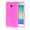 MOONCASE Transparent Soft Flexible Silicone Gel TPU Skin Shell Back ЧЕХОЛ ДЛЯ Samsung Galaxy A3 Hot Pink mooncase transparent soft flexible silicone gel tpu skin shell back чехол для samsung galaxy a3 hot pink