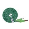 3/6/10 футов прочный плетеный плоский 8-контактный двухсторонний USB синхронизации данных зарядный кабель шнур для iPhone 5 5С 6 6с плюс iPad 4 5 воздух iOS9