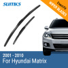 SUMKS Wiper Blades for Hyundai Matrix 22&16 Fit Hook Arms 2001 2002 2003 2004 2005 2006 2007 2008 2009 2010 new style motorcycle accessories front brake disc rotor for honda cb400 1999 2000 2001 2002 2003 2004 2005 2006 2007 2008 2009