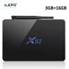iLEPO X92 Android 7.1 Smart TV Box Amlogic S912 Quad Core 64bit 4K WiFi 2.4GHz 1000M LAN IPTV Set-top Media Player Box