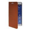 MOONCASE Slim Leather Side Flip Wallet Card Slot Pouch with Kickstand Shell Back чехол для Huawei Honor 6X Brown mooncase slim leather side flip wallet card slot pouch with kickstand shell back чехол для huawei ascend g7 purple
