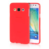 MOONCASE Transparent Soft Flexible Silicone Gel TPU Skin Shell Back ЧЕХОЛДЛЯ Samsung Galaxy A3 Red embossed tpu gel shell for ipod touch 5 6 girl in red dress