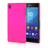MOONCASE Hard Rubberized Rubber Coating Devise Back ЧЕХОЛ ДЛЯ Sony Xperia Z4 Hot pink mooncase hard rubberized rubber coating devise back чехол для sony xperia z4 green