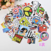 100 PCS Mixed Stickers for Laptop Luggage Car Bicycle Motorcycle Skateboard Phone Home Decor Decal Graffiti Waterproof Sticker junction produce jp luxury reflective windshield sticker ho car auto motorcycle vinyl diy decal exterior window body car styling