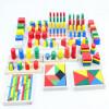 Новые деревянные игрушки для детей Монтессори Сенсорные игрушки Раннее детство Образование Дошкольное воспитание Детские игрушки 14шт Блоки Детские подарки сенсорные купить до 2000 грн
