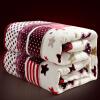 Jiuzhou deer домашний ковер одеяло коралловая шерсть одеяло постельные принадлежности летом сон кондиционеры одеяла одеяла папитто жаккардовое 100х140 шерсть