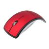 Революционный дизайн 2.4GHz беспроводной Arc Mouse с мини-USB приемник Оптический складной мышей для ноутбука Tablet PC microsoft arc touch mouse black usb