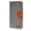 MOONCASE Galaxy Note A7 , Leather Flip Wallet Card Holder Pouch Stand Back ЧЕХОЛ ДЛЯ Samsung Galaxy A7 Grey