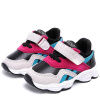 Children Winter New Boy and Girl Shoes Fashion Sports Round Toe Velcro Color-matching Shoes new fashion boy
