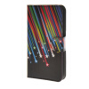 MOONCASE Meteor style Leather Wallet Flip Card Slot Stand Pouch чехол для HTC Desire 620 A05 htc desire 650