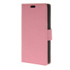 MOONCASE Simple Leather Flip Wallet Card Slot Stand Back чехол для Huawei Ascend Y635 Pink boxwave huawei g6310 bamboo natural panel stand premium bamboo real wood stand for your huawei g6310 small
