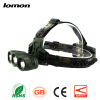 3 LED Headlamp 18650 Rechargeable Waterproof Bicycle Cycling Bike LED Headlight Fishing Outdoors Head Light 3 Lights Source Head L
