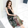 Платье Юджина, платье для вышивки, юбка средней длины, платье знаменитостей