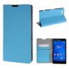 MOONCASE Sony Xperia Z3 Compact ( Z3 Mini ) ЧЕХОЛ ДЛЯ Flip Leather Wallet Card Holder Bracket Back Pouch Blue xperia z3 compact prezzo euronics