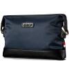 Гольф Гольф Мужская сумка сумка сцепления большой емкости многоцелевой плеча мешок сцепления кошелек темно-синий черный S595604 куплю документы на гольф 4
