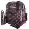 Детские пеленки подгузник точка Изменение сумка рюкзак сумка мумия женщины ретро рюкзак мужчина пар рюкзак брезент сумка рюкзак для подростков туризм спортивная сумка кемпинг