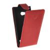 MOONCASE Smooth skin Leather Bottom Flip Pouch чехол для Nokia Lumia 730 Red стоимость