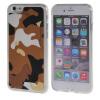 MOONCASE iPhone 6 Plus (5.5) ЧЕХОЛДЛЯ Slim Soft Silicone Gel TPU Skin Protective Brown чехол lab c slim soft для iphone 7 plus прозрачный