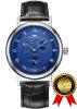 RIGADA Швейцарские часы для мужчин, Nice Blue Dial Деловые повседневные мужские часы, отличный подарок для семей часы kenneth cole kenneth cole ke008dmwtw72