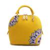 Мода кожаный мешок этническая вышивка Shell стиль женщин сумки Messenger небольшие известный бренд вышитые кожаные сумки сумка комбинированные пу кожаный вышитые кожаные юбки трикотажные платья