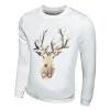 Весна 2016 Мода капюшоном Мужская Скейтборд палевый Мужчины печати хип-хоп кофты Человек руно капюшоном пуловер Спортивная одежда