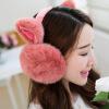 2018 Новогодние модные кролики Зимние наушники для женщин Теплые меховые наушники Зимние теплые наушники для ушей Подарки для девочек Женщины Бесплатная доставка
