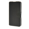 MOONCASE Ultra thin matte surface Leather Wallet Flip Card Slot Holster Pouch Stand Back чехол для Sony Xperia E4G Black