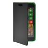 все цены на MOONCASE Slim Leather Flip Wallet Card Pouch with Kickstand Shell Back ЧЕХОЛДЛЯ Nokia Lumia 630 Black онлайн