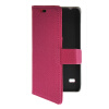 MOONCASE Slim Leather Side Flip Wallet Card Slot Pouch with Kickstand Shell Back чехол для Huawei Ascend Y550 Hot pink mooncase slim leather side flip wallet card slot pouch with kickstand shell back чехол для huawei ascend g7 hot pink