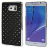 MOONCASE Samsung Galaxy Note 5 ЧЕХОЛ ДЛЯ Bling Chrome Hard Back Black mooncase samsung galaxy note 5 чехол