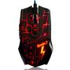 Блэкджек (Ajiazz) Q7 проводная игра мышь красная подсветка легкая мышь LOL CF компьютер посвященная игровая игра офисный ноутбук USB-проводная мышь кнопка a4tech f70 волк индия x7 копье небольшая lol игра игровая мышь