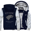Волшебные весы Игра престолов Direwolf Ghost House of Stark Winter Coming Куртка Толстовки Толстовки Hoodie Zip