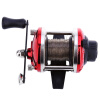 Mini Right Hand Casting Fishing Reel Морская река Ocean Boat Gear с линией 0,2 мм 50 м ts1200 fishing reels right left hand bait casting fishing reel lure reel pro 14 ball bearings fishing gear water drop wheel