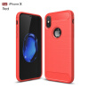 For iPhone x Funda Business Carbon Fiber Soft Silicone Shockproof Protective Back Case Armor For iPhone X 8 7 6 5 SE Case for amazon 2017 new kindle fire hd 8 armor shockproof hybrid heavy duty protective stand cover case for kindle fire hd8 2017
