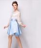 Lovaru ™ Сплошной цвет кружевные юбки станция Европа 2015 летом новые конфеты цвета талии женщины юбка lovaru ™органза юбка неправильную станции европы 2015 летом новые женские юбки печати темперамент